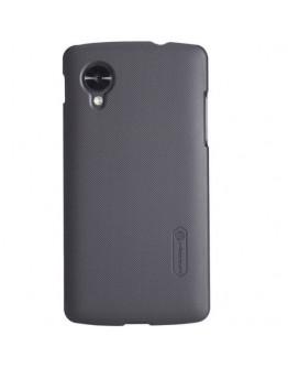 Carcasa protectie spate + folie ecran pentru LG Nexus 5 - neagra